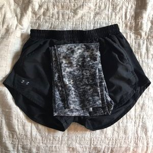 Under Armour leggings and shorts